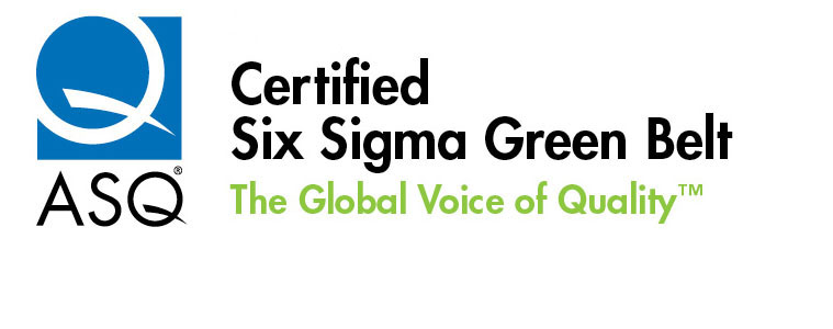 training ASQ Approved Lean Six Sigma Green Belt