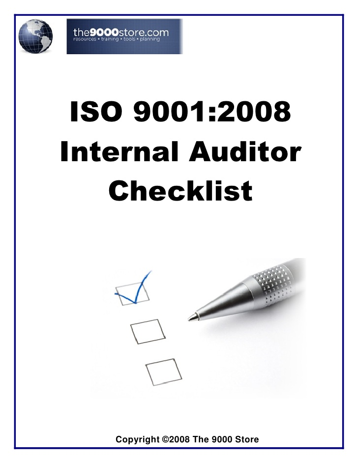 pelatihan An Effective Internal Quality Auditor ISO 9001:2008