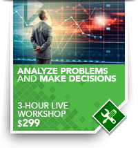 training Analyze Problems and Make Decisions