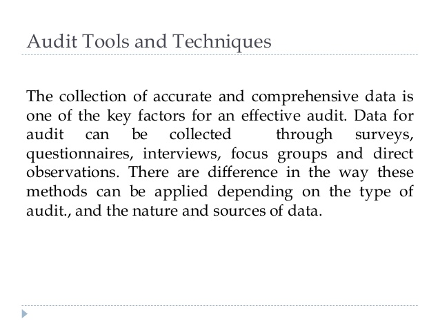 pelatihan Basic Audit Techniques and Tools for the New Auditors