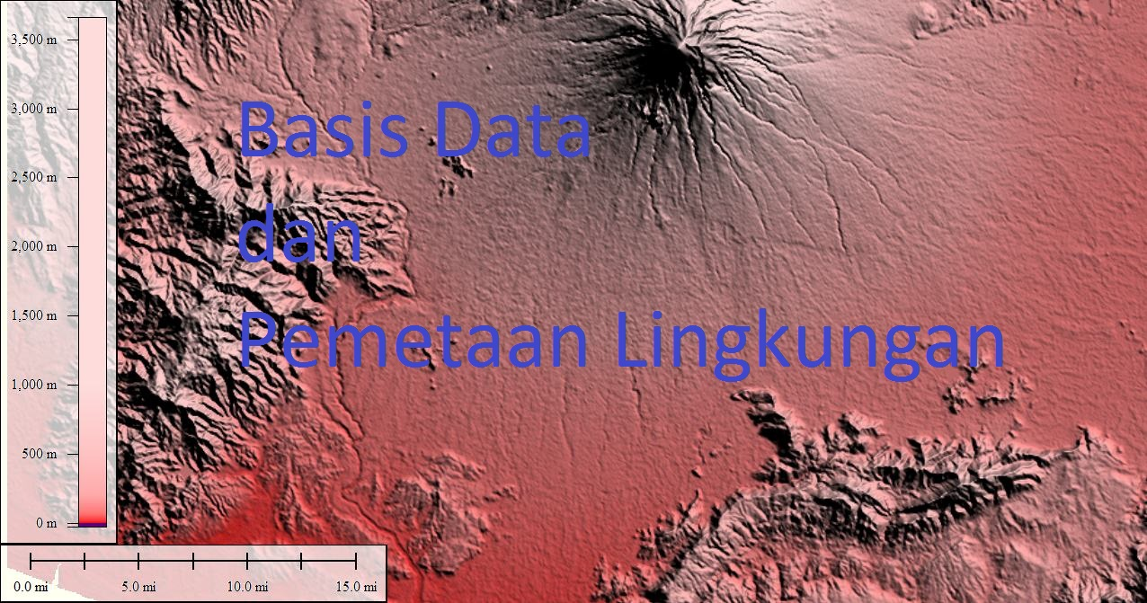 training Basis Data dan Pemetaan Lingkungan