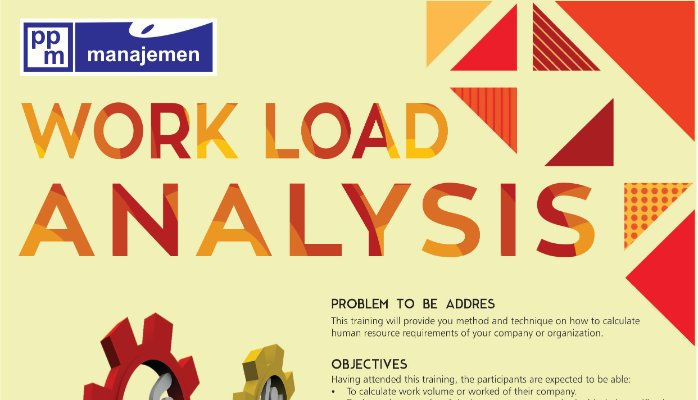 training Best Practice Of Workload Analysis