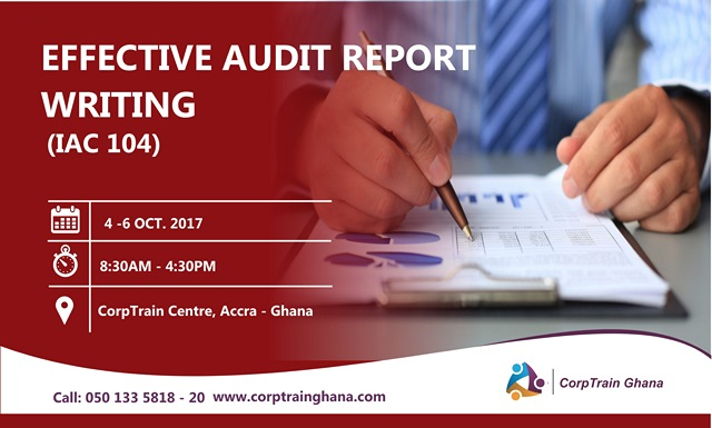 training Audit Report Writing