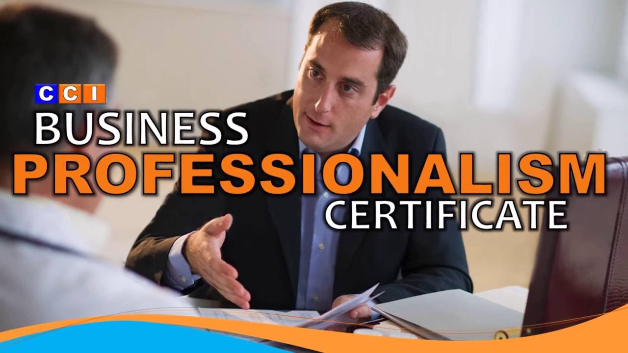 pelatihan Business Professionalism