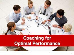 pelatihan Coaching For Optimal Performance