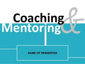 pelatihan Coaching & Mentoring