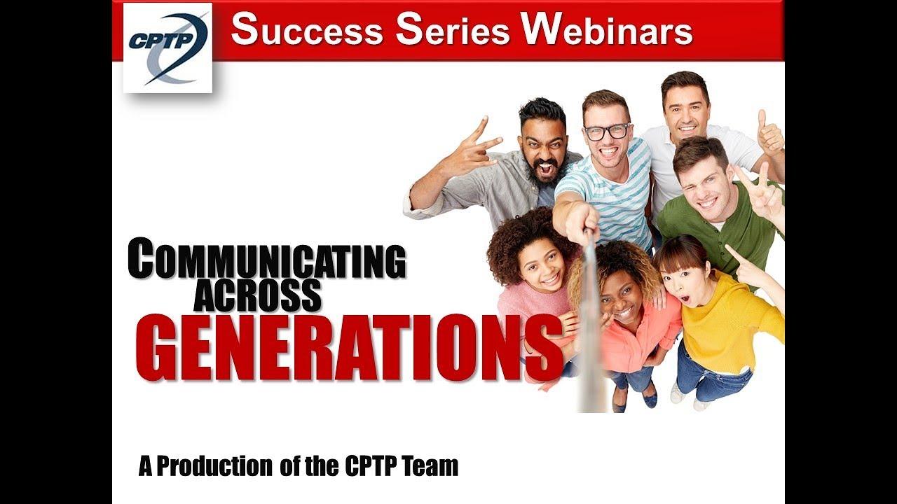 training Communicating Across Generations