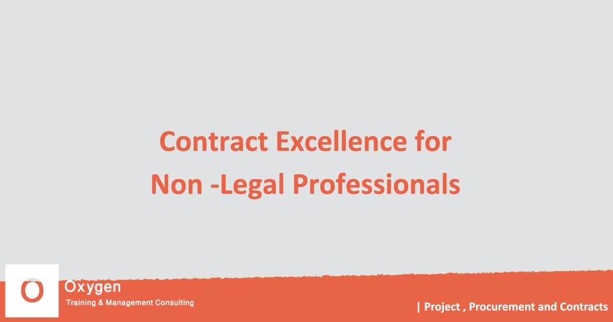 seminar Contract Excellence for Non – Legal Professionals