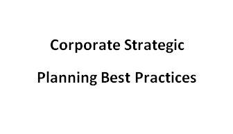 traininig Corporate Strategic Planning
