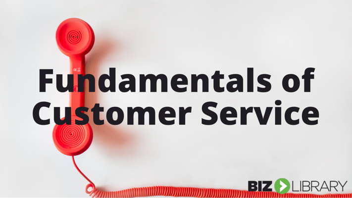 training Customer Service Fundamentals