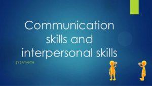 seminar Effective Communication & Interpersonal Skills