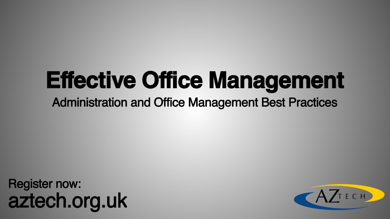 pelatihan Effective Office Management