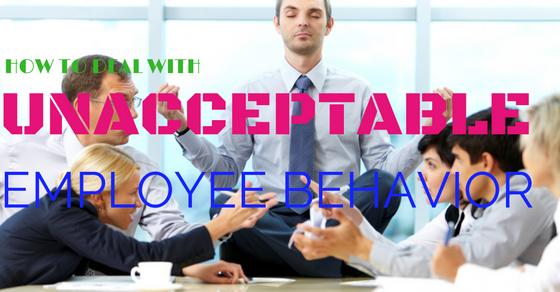 seminar Effective Solutions for Unacceptable Employee Behavior