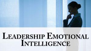 training Emotional Intelligence For Leadership