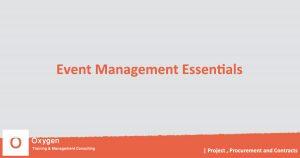 training Event Management Essentials