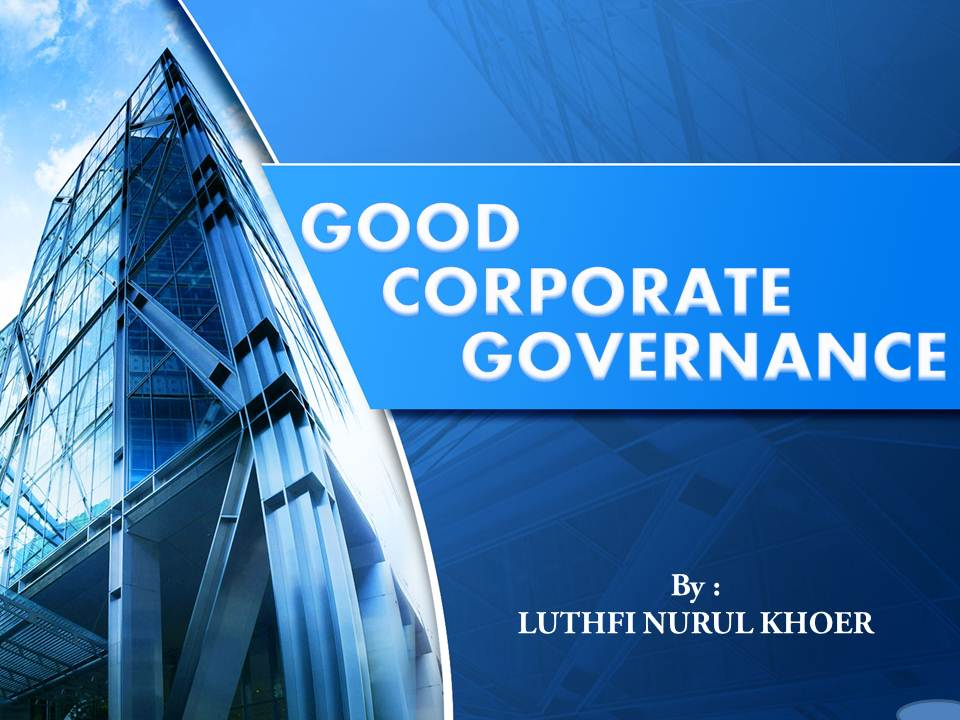 training Good Corporate Governance