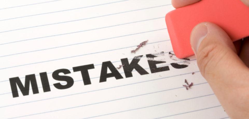 training Handling Mistakes & Problem Solving