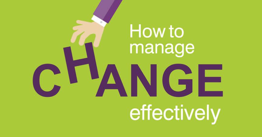 training Manage Change Effectively