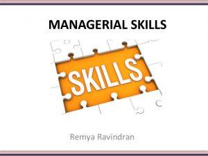 seminar Managerial Skills for Secretaries, Administration & Professional Staff
