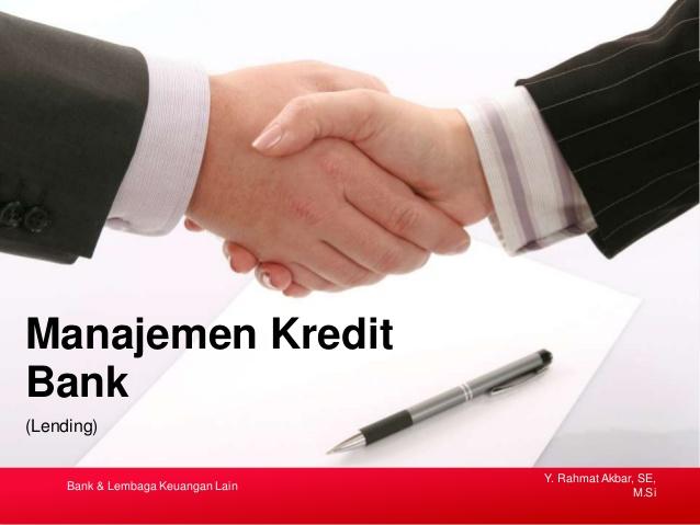pelatihan Manajemen Kredit dan Pengaruhnya Terhadap Efektivitas Dana